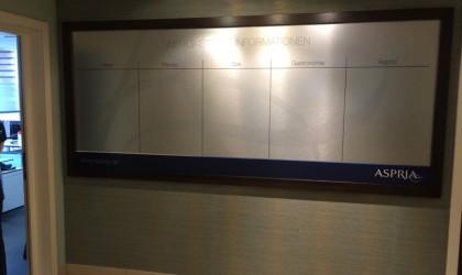 Aspria Informationstafel