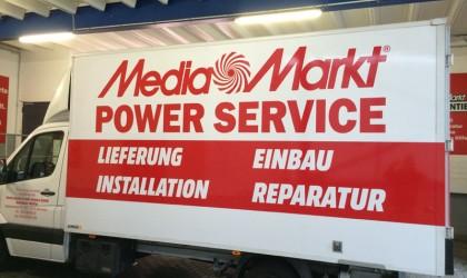 Media Markt Fahrzeugbeschriftung